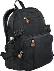Rothco Black Vintage Mini Backpack