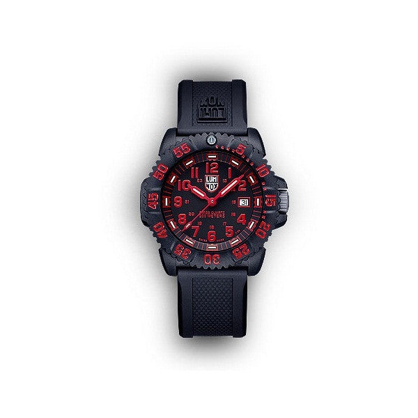 Luminox 3065 EVO Navy SEAL Red Colormark Watch