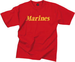 Rothco Red Marines T-Shirt