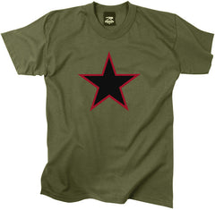 Rothco Red China Star Olive Drab T-Shirt