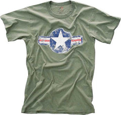 Rothco Army Air Corp Olive Drab Tee