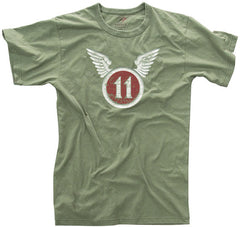 Rothco 11th Airborne Olive Drab T-Shirt