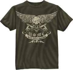 Rothco USMC Death Before Dishonor T-Shirt