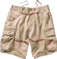 Rothco Tri-Color Desert Camouflage Vintage Cargo Shorts
