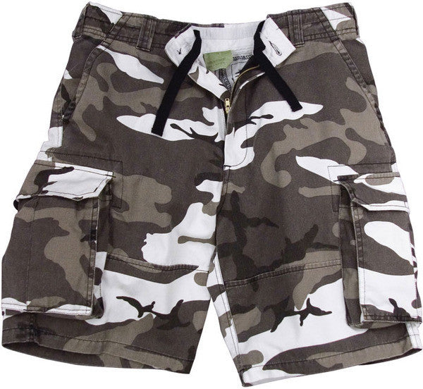 Rothco City Camouflage Cargo Vintage Short