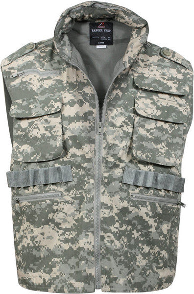 Rothco Army Digital Camouflage Ranger Vest