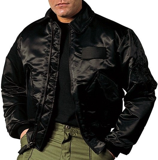 Rothco Black CWU-45P Flight Jacket