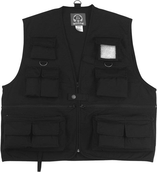 Rothco Uncle Milty Black Travel Vest