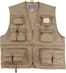 Rothco Uncle Milty Khaki Travel Vest
