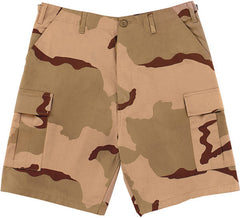 Rothco Tri-Color Desert Camouflage Cargo Shorts