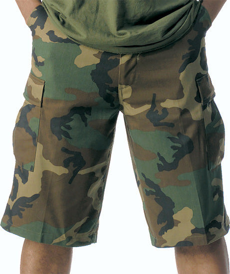 Rothco Woodland Longer BDU Shorts