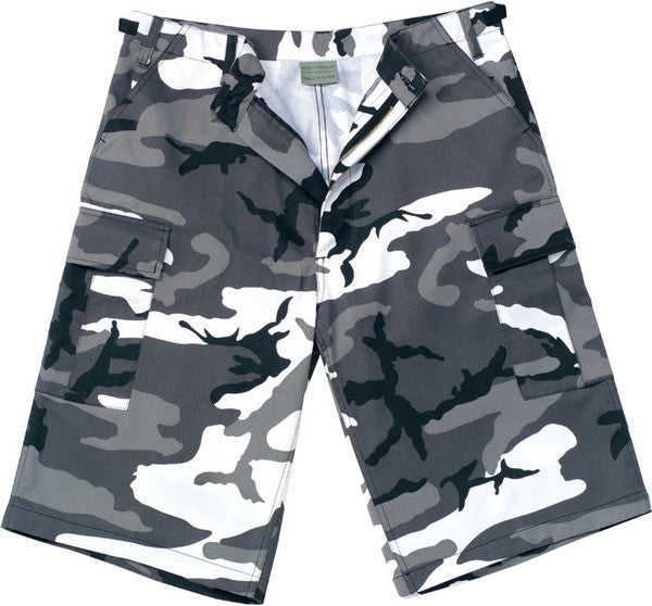 Rothco City Camouflage Longer BDU Shorts