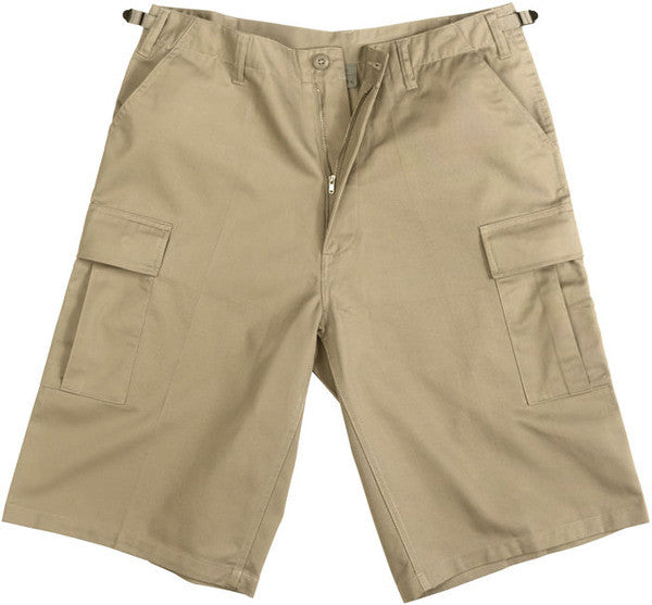 Rothco Khaki Longer BDU Shorts