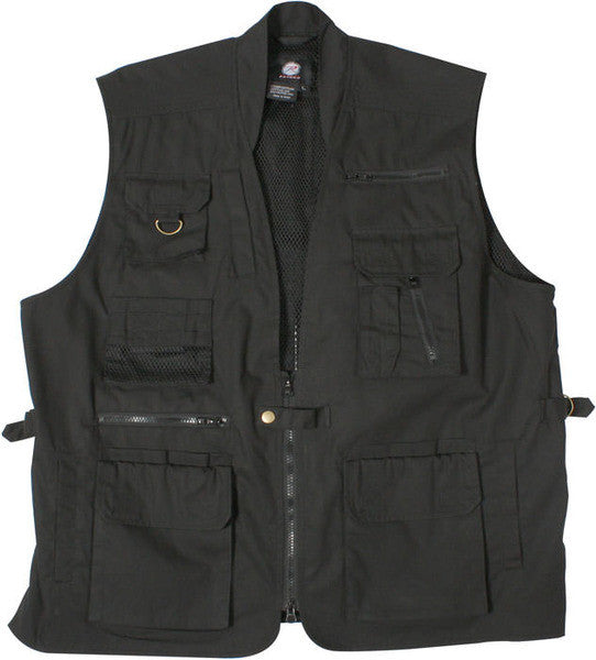 Rothco Black Concealed Carry Vest