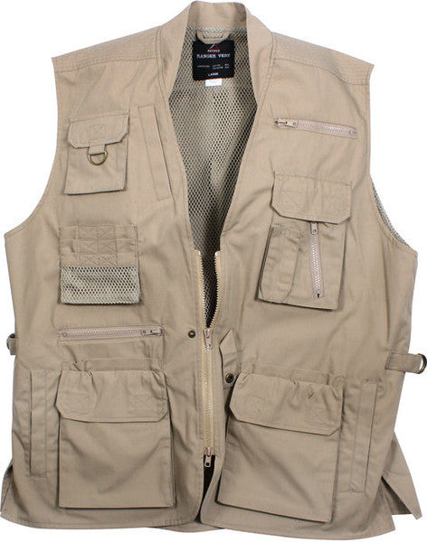 Rothco Khaki Concealed Carry Vest