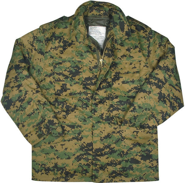 Rothco M-65 Field Jacket Woodland Digital
