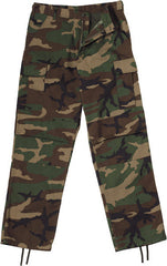 Rothco Woodland Camouflage BDU Pants (Zipper Fly)