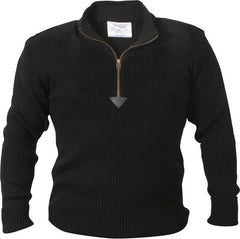 Rothco Black Commando Sweater