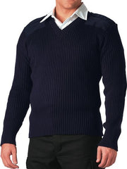 Rothco Navy V-Neck Sweater