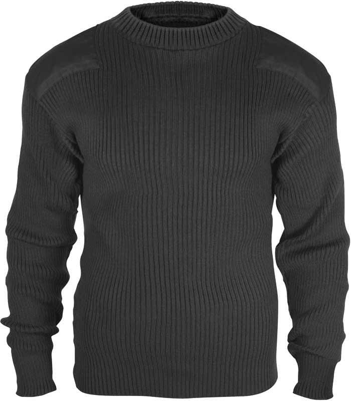 Rothco Black Acrylic Commando Sweater