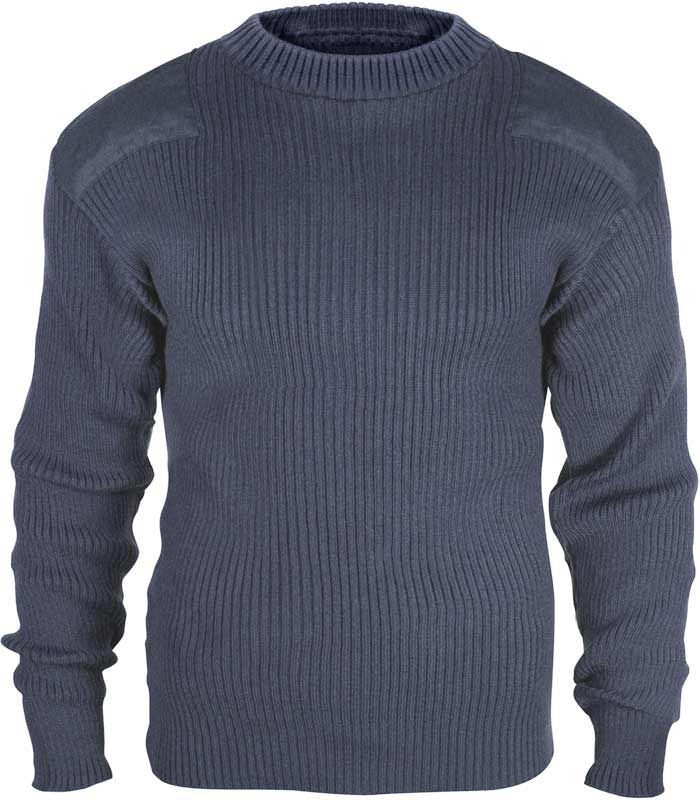 Rothco Navy Acrylic Commando Sweater