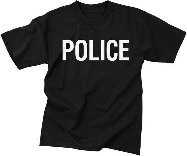 Mashern Police Double-Sided T-Shirt