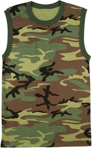 Rothco Camouflage Muscle Tee