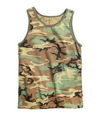 Rothco Woodland Camouflage Tank Top