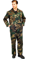 Rothco Woodland Camouflage Coverall