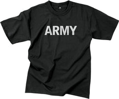 Rothco Black Army T-Shirt