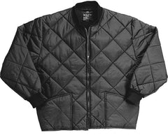 Rothco Black Diamond Quilted Flight Jacket