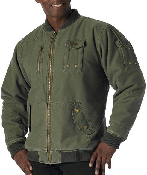 Rothco Olive Drab CWU-99E Enhanced Vintage Flight Jacket