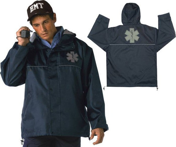 Rothco EMT Nylon Hooded Jacket