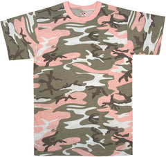 Rothco Subdued Pink Camouflage T-Shirt