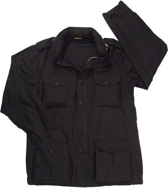 Rothco Black Lightweight Vintage M-65 Jacket
