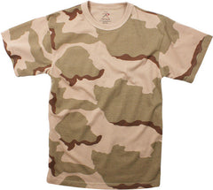 Rothco Tri-Color Desert Camouflage T-Shirt