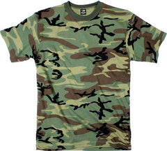 Rothco Woodland Camouflage T-Shirt