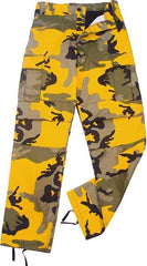 Rothco Stinger Yellow Camouflage BDU Pants