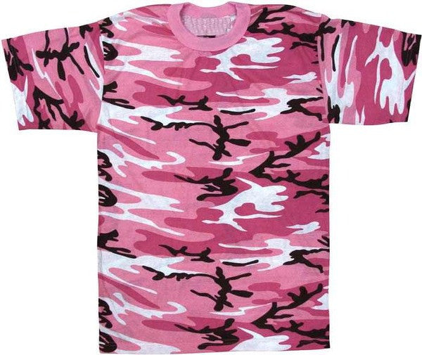 Rothco Pink Camouflage T-Shirt