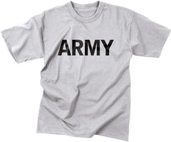 Rothco Grey Moisture Wicking Army T-Shirt
