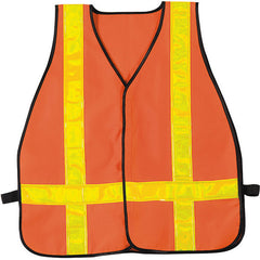 Rothco High Visibility Oxford Orange Safety Vest