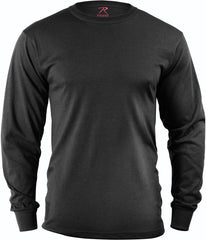 Rothco Black Long Sleeve Tee