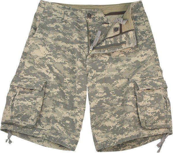 Rothco Army Digital Camouflage Infantry Utility Vintage Shorts