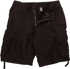 Rothco Black Infantry Utility Shorts