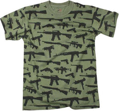 Rothco Olive Drab Guns & Rifle T-Shirt