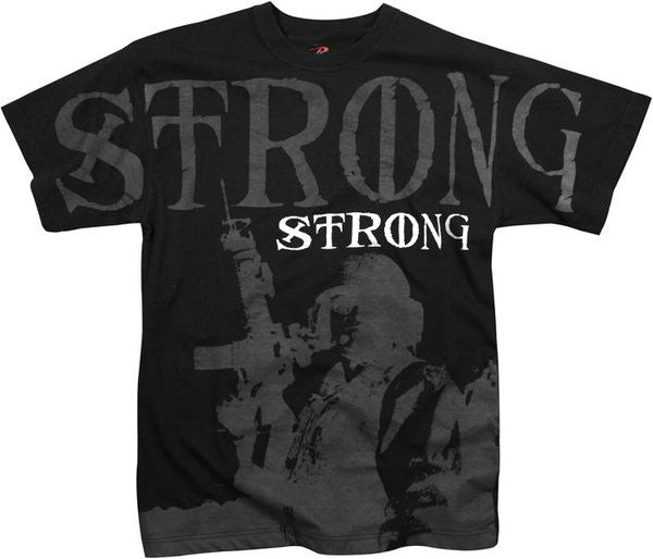Rothco Black Strong T-Shirt