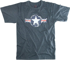 Rothco Blue Army Air Corp Tee