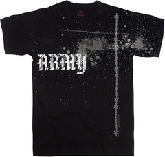 Mashern Army Helicopter Black Tee