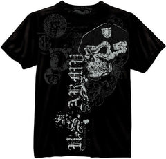 Mashern US Army Skull With Beret T-Shirt