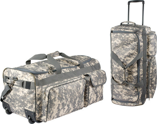 Rothco Army Digital Camouflage Wheeled Bag